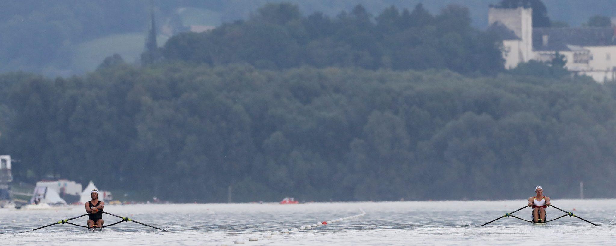 Blade Depth in Rowing