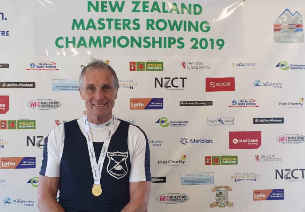 Gordon Williams, Masters rower, Faster masters, NZ Rowing, Masters sculling