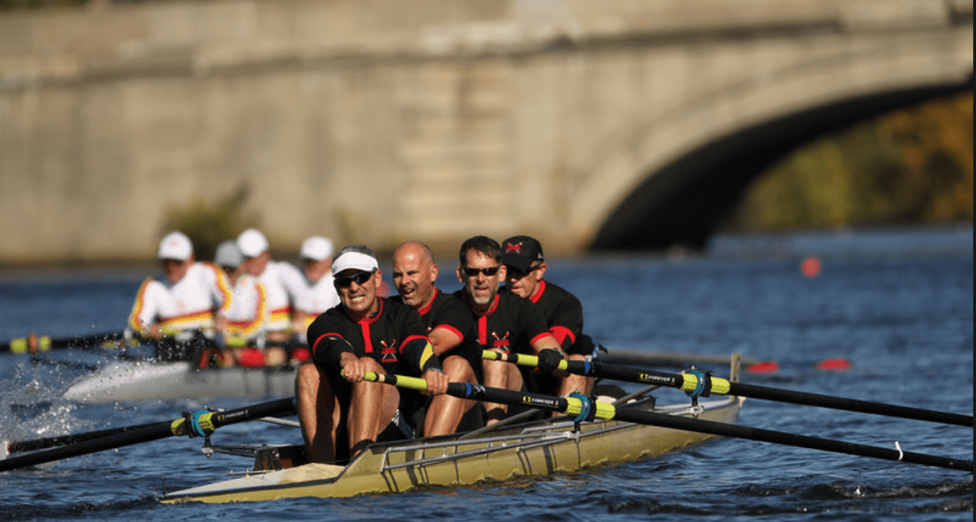 head race rowing, masters rowing, mens rowing four