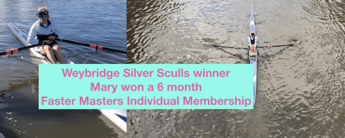Weybridge Silver Sculls Winner