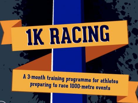 12 week, 1k race,