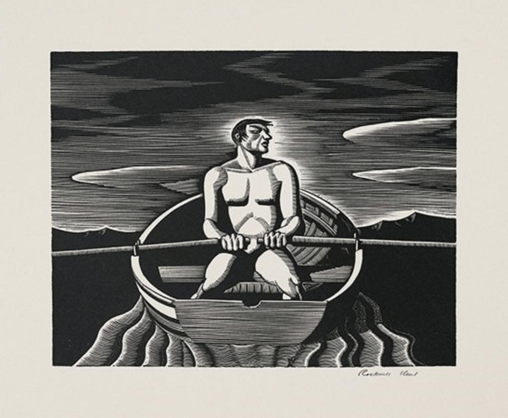 oarsman, Rockwell Kent Artist