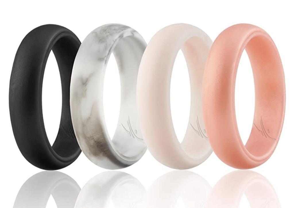 silicone ring, sport ring, rowing wedding ring,