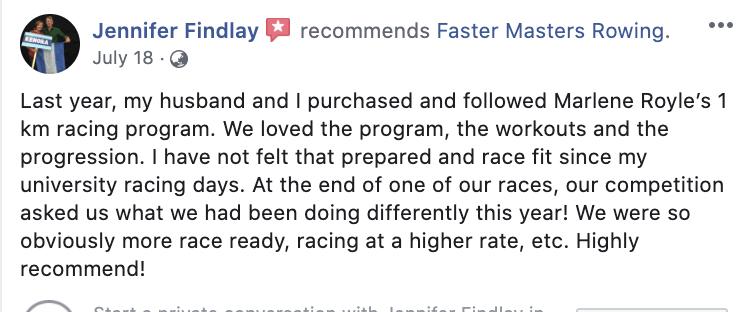 testimonial 1k Racing Program