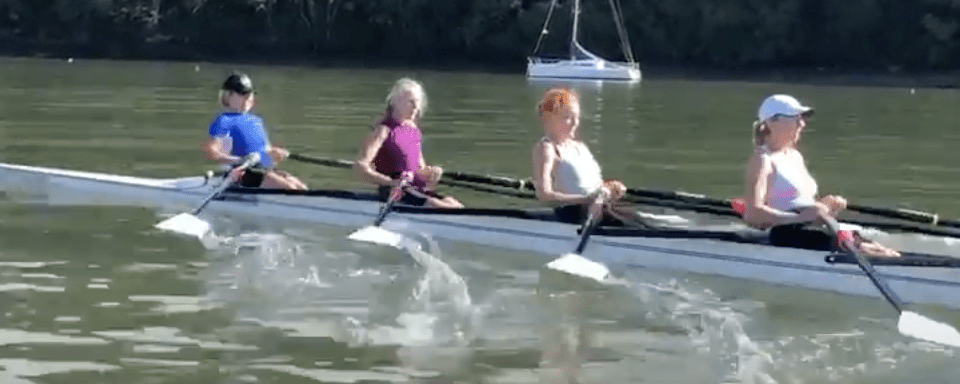 Coaching the release in rowing