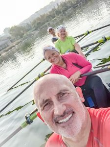 masters rowing, faster masters, mixed quad