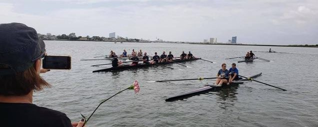 Coaching a novice masters crew