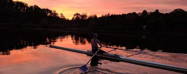 Mindful rowing practice