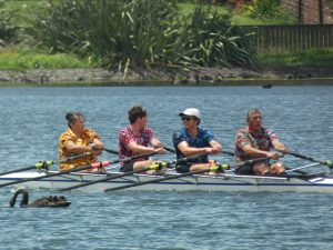 masters rowing, quad scull, family quad race,