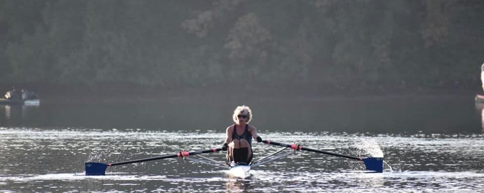 Rowing and Aging each decade