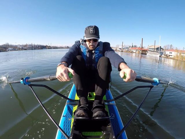 single scull masters rower