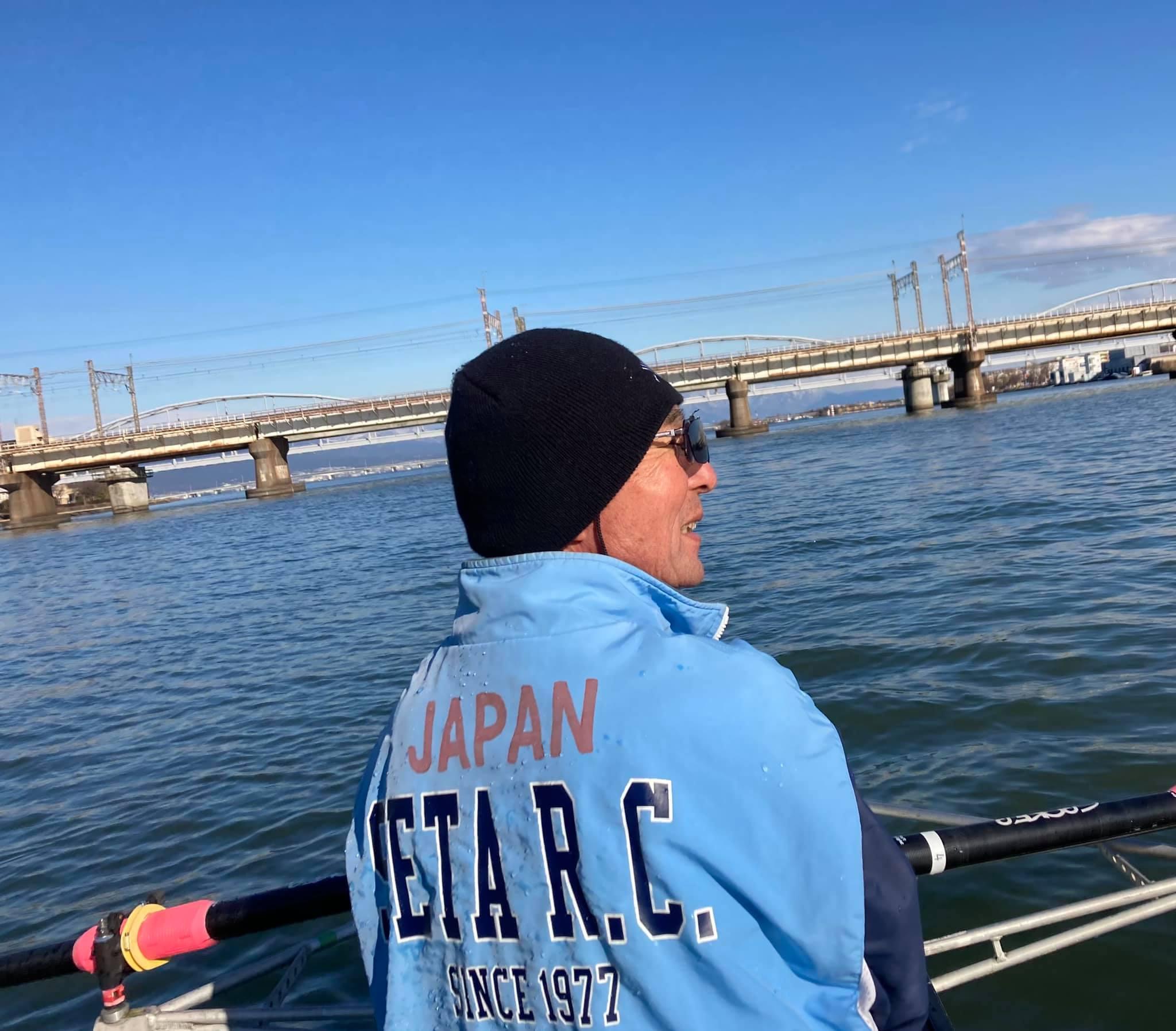 rowing in Japan